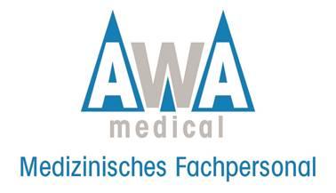 AWA MEDICAL LOGO Zeitarbeit Medizinisches Fachpersonal